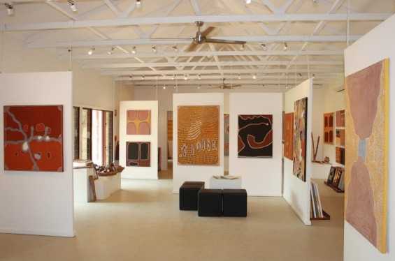The Waringarri Aboriginal Arts Retail Gallery © Waringarri Aboriginal Arts, 2014.
