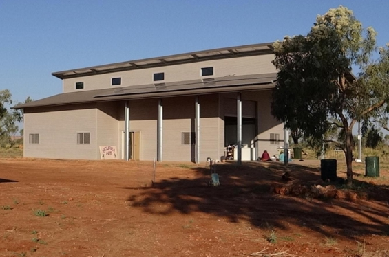 Exterior view of Ngurra Arts. © Ngurra Arts 2014