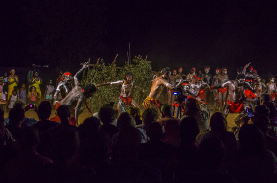 Waringarri annual 'Corroborree Under the Stars' © Waringarri Aboriginal Arts Centre