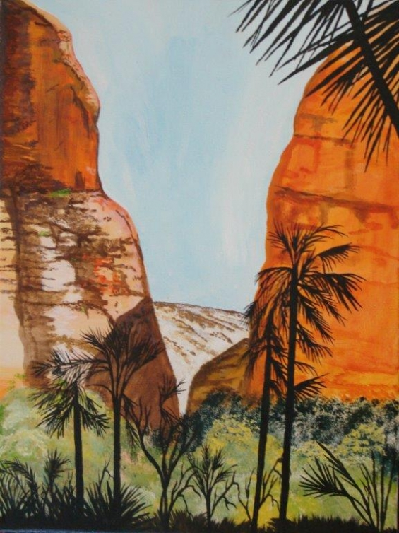 Barry Demi, Echidna Gorge, Bungle Bungles 2010 © Yarliyil Art Centre