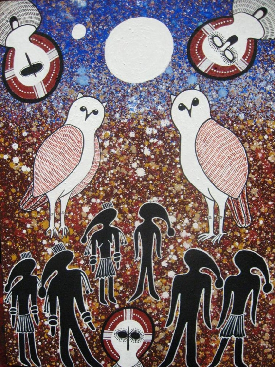 Kirsty Burgu, Marriage Laws 2011 © Mowanjum Aboriginal Art & Culture Centre
