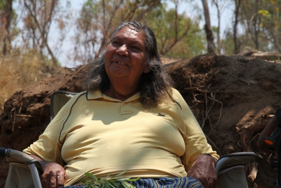 Bonnie Deegan at Halls Creek © AGWA 2014