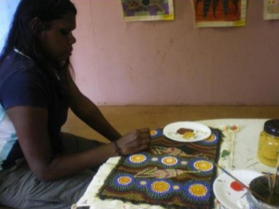 Marilyn Bullen © Bidyadanga Community Art Centre