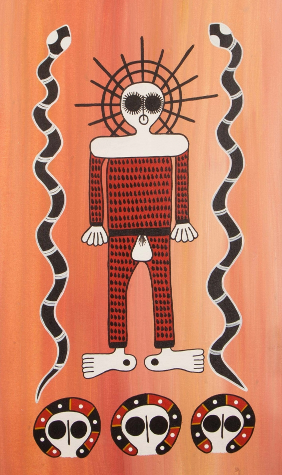 Robyn Mungulu, Namarali 2015 © Mowanjum Aboriginal Art and Culture Centre