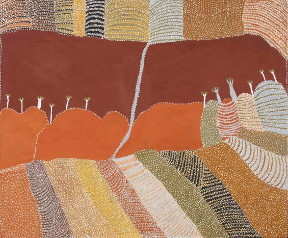 Patrick Mung Mung, Purnululu (Bungle Bungle) 2012 © Warmun Art