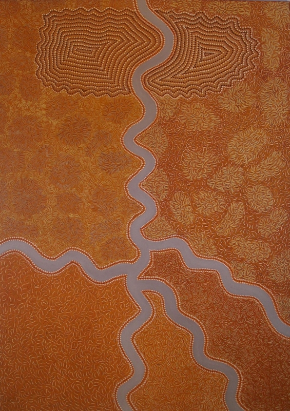 Peggy Griffiths, Goodim - Keep River Gorge 2009 © Waringarri Aboriginal Arts