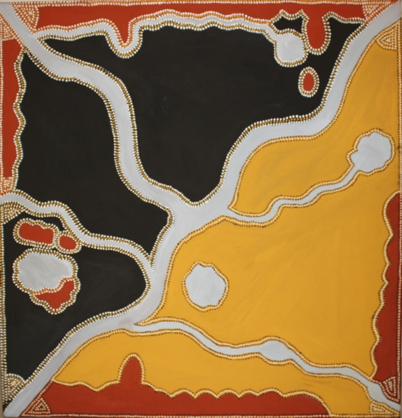 Alan Griffiths, Sugarloo 2011 �© Waringarri Aboriginal Arts