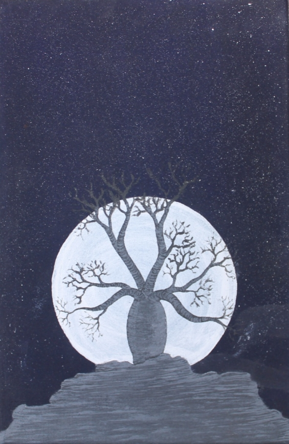 Clayton Bedford, Boab Tree 2012 © Yarliyil Art Centre