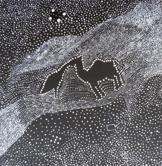 Bonnie Deegan, Milky Way 2012 © Yarliyil Art Centre
