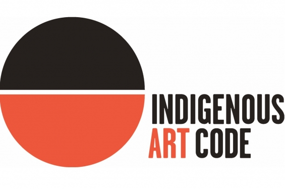 The Indigenous Art Code logo