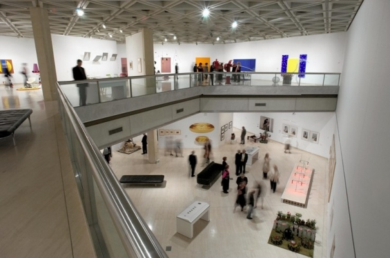 Interior view of the Art Gallery of Western Australia