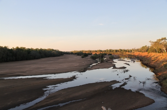 Fitzroy River at Fitzroy Crossing © AGWA 2015