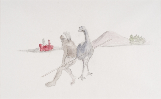 Butcher Joe Nangan, Kanangantja (The emu) 1982-1983