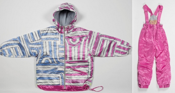 Jimmy Pike, Ski suit (Rakaralla design) 1995